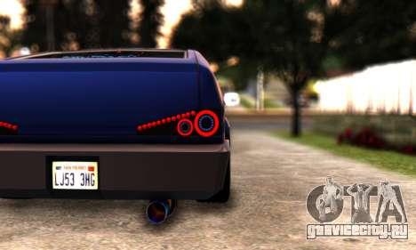 Blista Compact By VeroneProd для GTA San Andreas вид справа