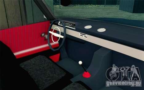 ВАЗ 21011 Бродяга для GTA San Andreas вид справа