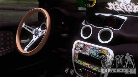 Citroen C2 для GTA San Andreas вид справа