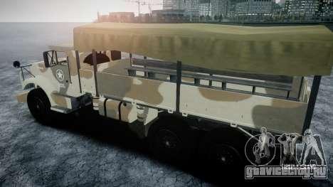 GTA 5 Barracks v2 для GTA 4 вид сбоку
