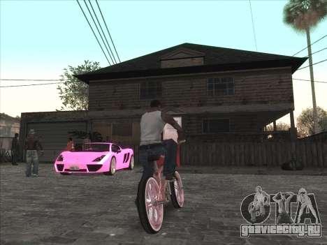 Личная машина CJ на Grove Street для GTA San Andreas