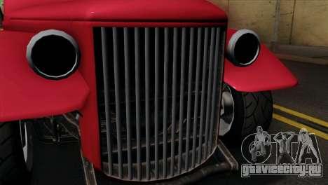 GTA 5 Bravado Rat-Truck IVF для GTA San Andreas вид справа
