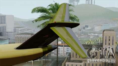 C-17A Globemaster III для GTA San Andreas вид сзади слева