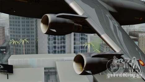 C-17A Globemaster III QAF для GTA San Andreas вид справа