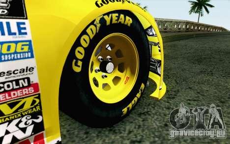 NASCAR Ford Fusion 2013 v4 для GTA San Andreas вид сзади слева