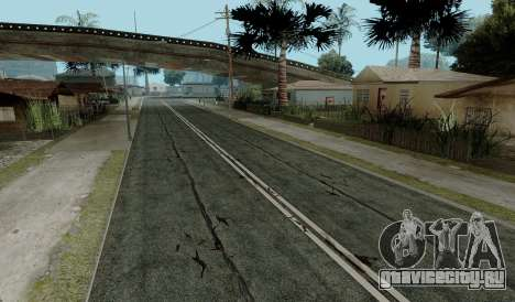 HQ Roads by Marty McFly для GTA San Andreas пятый скриншот