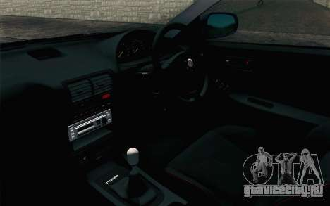 Honda Integra Type R 2000 Stock для GTA San Andreas вид справа