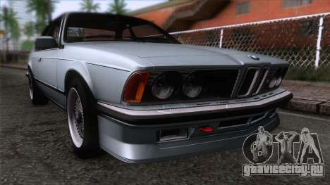 BMW M635 CSi 1984 Stock для GTA San Andreas