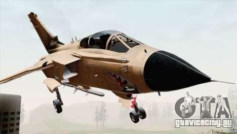 Tornado MIG Eater для GTA San Andreas вид сзади