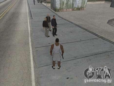 Русские в Торговом Квартале для GTA San Andreas седьмой скриншот