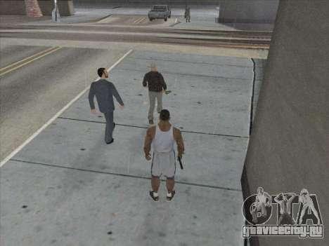 Русские в Торговом Квартале для GTA San Andreas восьмой скриншот
