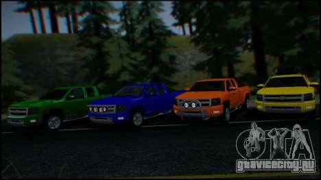 Chevrolet Silverado 1500 HD Stock для GTA San Andreas