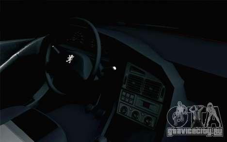 Peugeot 405 Tuning для GTA San Andreas вид справа
