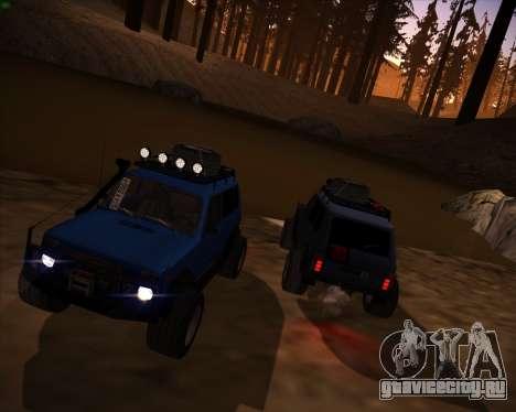 ВАЗ 2131 Нива 5Д OffRoad для GTA San Andreas вид справа