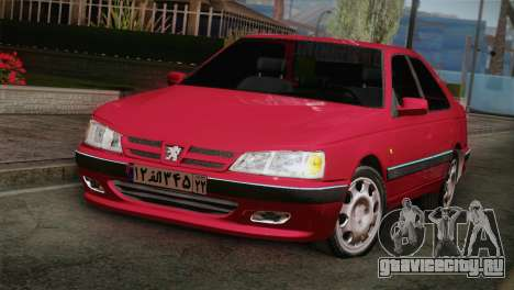 Peugeot Pars для GTA San Andreas вид сзади