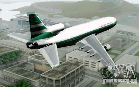 Lookheed L-1011 Cathay P для GTA San Andreas вид слева