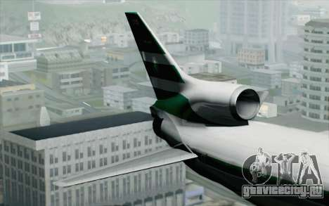 Lookheed L-1011 Cathay P для GTA San Andreas вид сзади слева