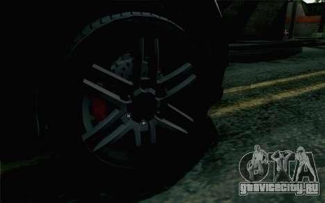 GTA 5 Karin Kuruma v2 Armored IVF для GTA San Andreas вид сзади слева