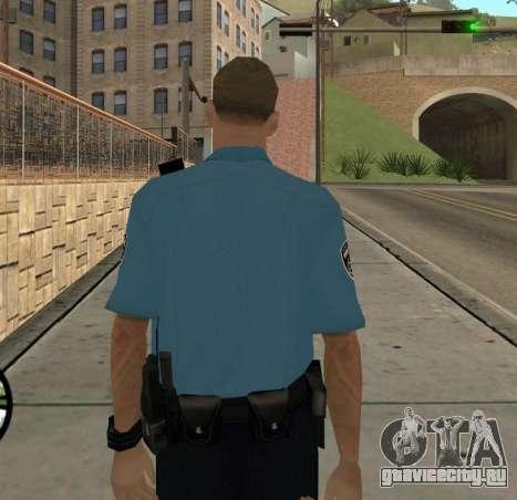Israeli Police Officer для GTA San Andreas четвёртый скриншот