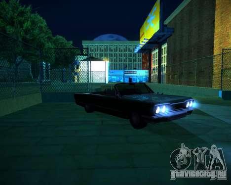 ENB GreenSeries для GTA San Andreas девятый скриншот