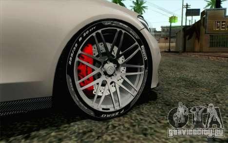 Mercedes-Benz C250 AMG Brabus Biturbo Edition EU для GTA San Andreas вид сзади слева