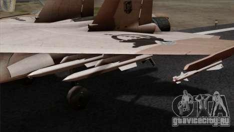 SU-37 UPEO для GTA San Andreas вид справа