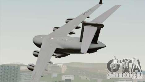 C-17A Globemaster III USAF McChord для GTA San Andreas вид слева