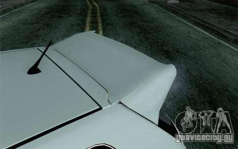 Honda Civic Type R для GTA San Andreas вид сзади