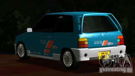 Suzuki Alto Works RS/R для GTA San Andreas вид сзади слева