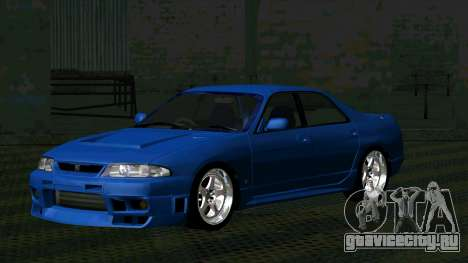 Nissan Skyline R33 4door outech для GTA San Andreas