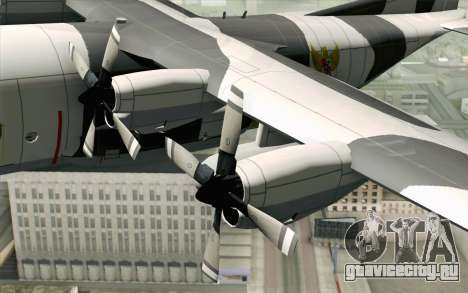 Lockheed C-130 Hercules Indonesian Air Force для GTA San Andreas вид справа
