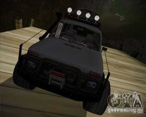 ВАЗ 2131 Нива 5Д OffRoad для GTA San Andreas вид сзади