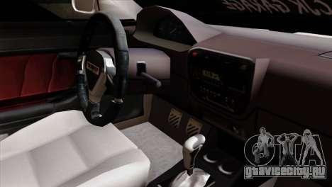 Honda Civic 1.6 для GTA San Andreas вид справа