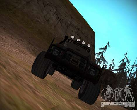 ВАЗ 2131 Нива 5Д OffRoad для GTA San Andreas колёса