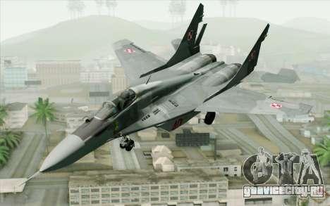 MIG-29 Polish Air Force для GTA San Andreas