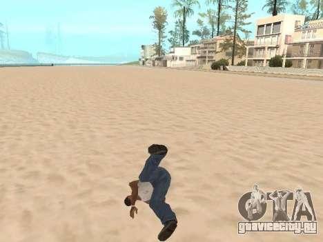 Паркур мод v2.0.4 для GTA San Andreas второй скриншот