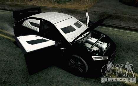 GTA 5 Karin Kuruma v2 Armored IVF для GTA San Andreas вид сзади