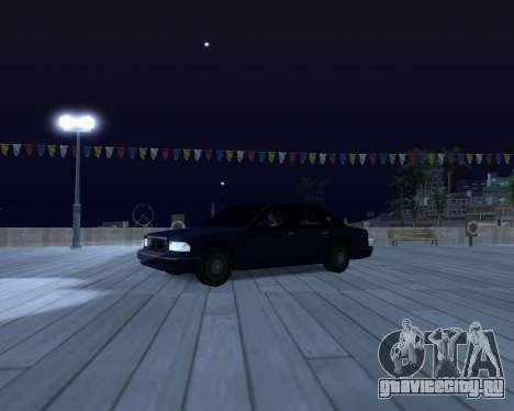 ENB for SAMP by MAKET для GTA San Andreas четвёртый скриншот