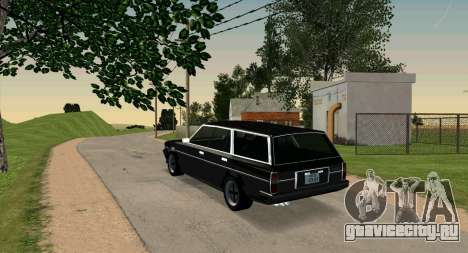 TOYOTA Mark II Wagon (GX70) для GTA San Andreas вид слева