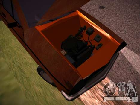 Rat Look Perennial для GTA San Andreas вид изнутри