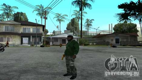 Gold Desert Eagle для GTA San Andreas четвёртый скриншот