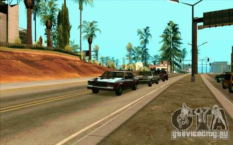 Tini ENB V2.0 Last для GTA San Andreas третий скриншот
