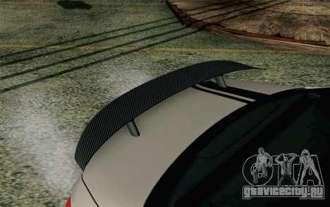 Mercedes-Benz C250 AMG Brabus Biturbo Edition EU для GTA San Andreas вид справа