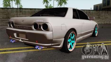 Nissan Skyline R32 Drift JDM для GTA San Andreas вид слева