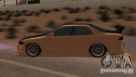 Toyota Mark II для GTA San Andreas вид изнутри