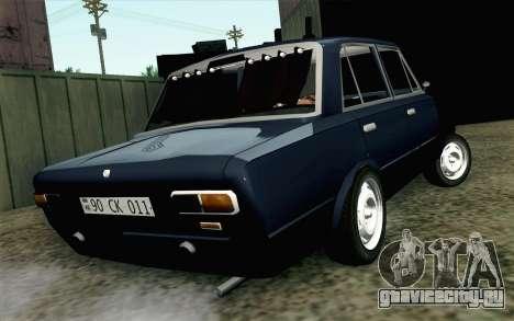 ВАЗ 21011 Бродяга для GTA San Andreas вид слева