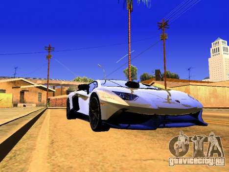 Lamborghini Aventador Novitec Torado для GTA San Andreas