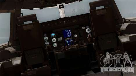 Boeing E-767 Japan Air Self-Defense Force EoJ для GTA San Andreas вид изнутри