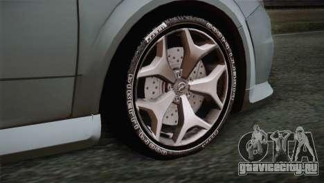 Opel Astra OPC Stock для GTA San Andreas вид сзади слева