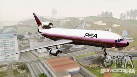 Lookheed L-1011 PSA для GTA San Andreas